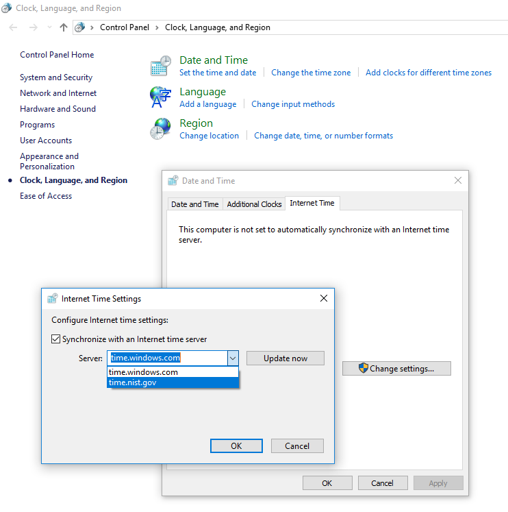 Nihal Singh - Update time on Windows with IIT Bombay NTP server